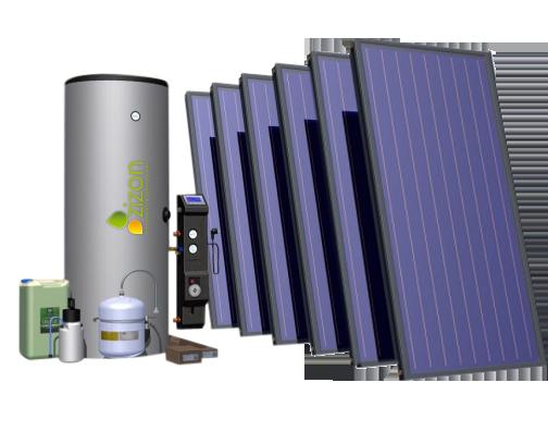 Zonneboiler zonneboilercombi 500ltr